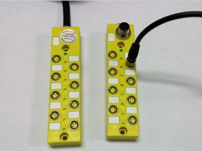 M8傳感器分線盒,M8多口盒(8口座,16口座)