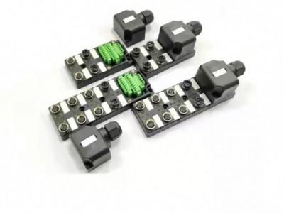 科迎法M12 4端口8端口端子式現分線盒場接線型分線盒