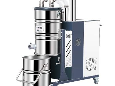 威德爾智能反吹工業用380v大功率移動式工業吸塵器