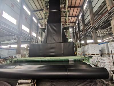 雪蓮藕種植10米寬0.40mm厚HDPE土工膜生產廠家報價