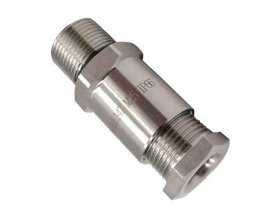 電纜防爆格蘭頭不銹鋼填料函接頭