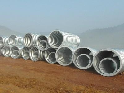 畢節波紋鋼管波紋鋼管,熱鍍鋅防腐,環形波紋鋼圓管