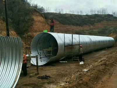 環形波紋鋼圓管,鋼波紋管管涵單價 福泉波紋鋼管